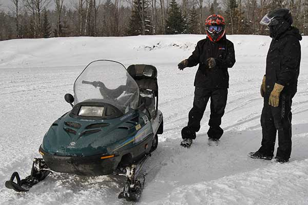 Snowmobile Training Course